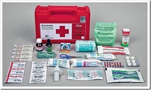 Регулярная ревизия аптечки