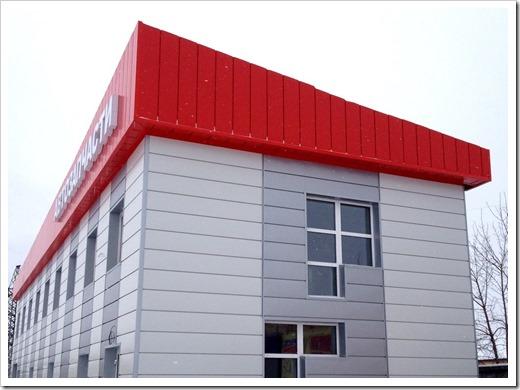 Фасад не нуждается в дополнительном армировании