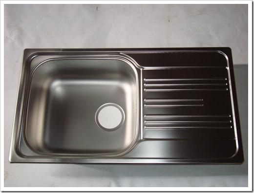 Стальная раковина для кухни