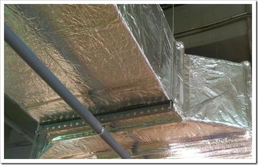 Защита воздуховодов от воздействия высоких температур